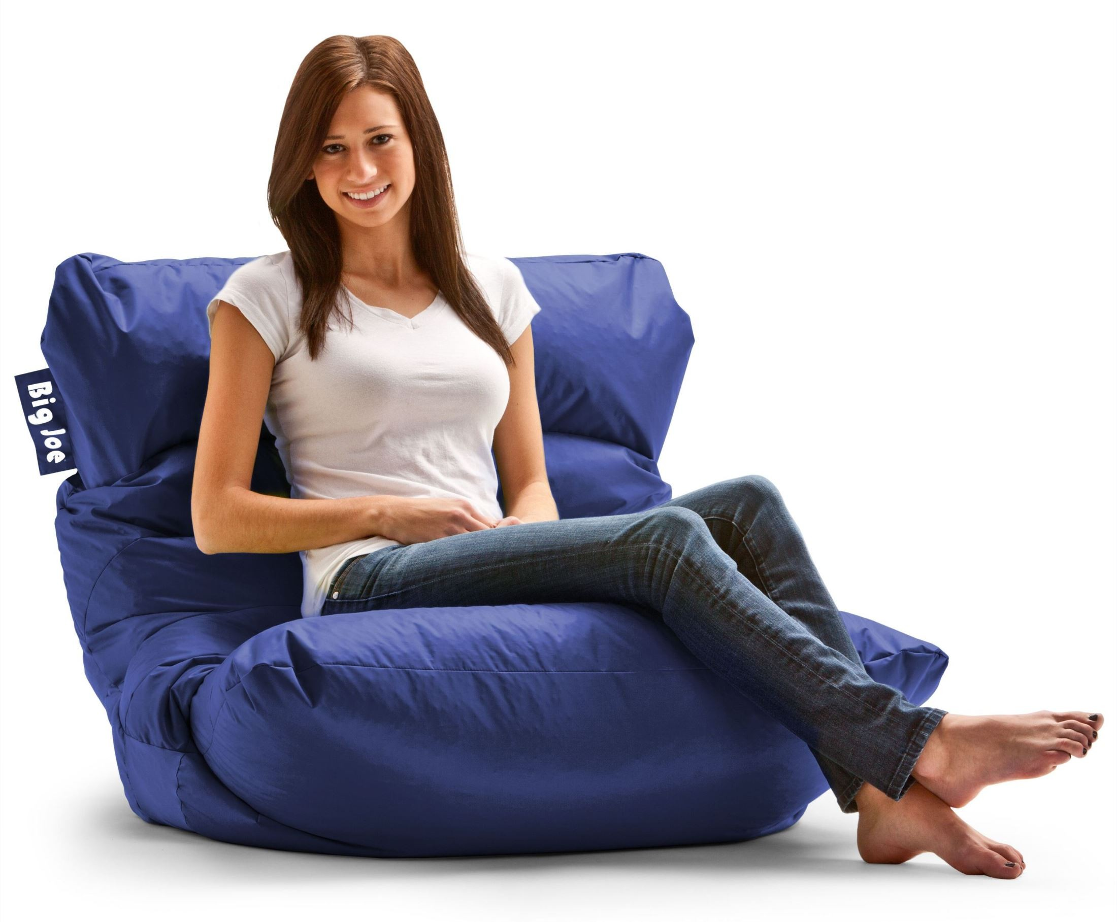 Big joe roma sapphire smartmax bean bag chair from comfort research