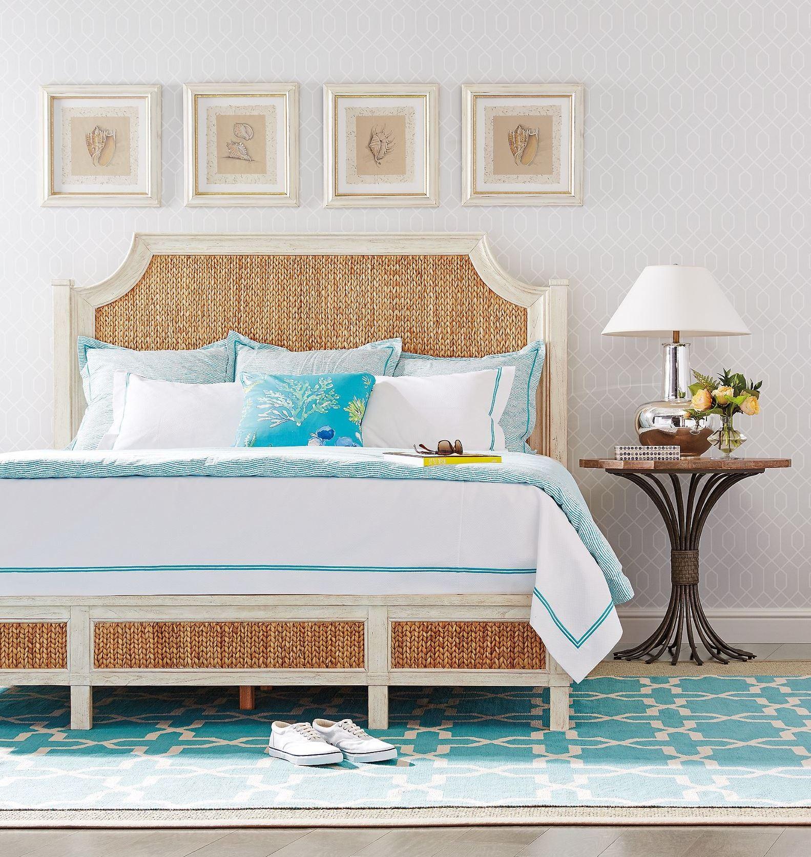 Meadow Bedroom Set Coastal Living Resort Sailcloth Water Meadow Woven Bedroom