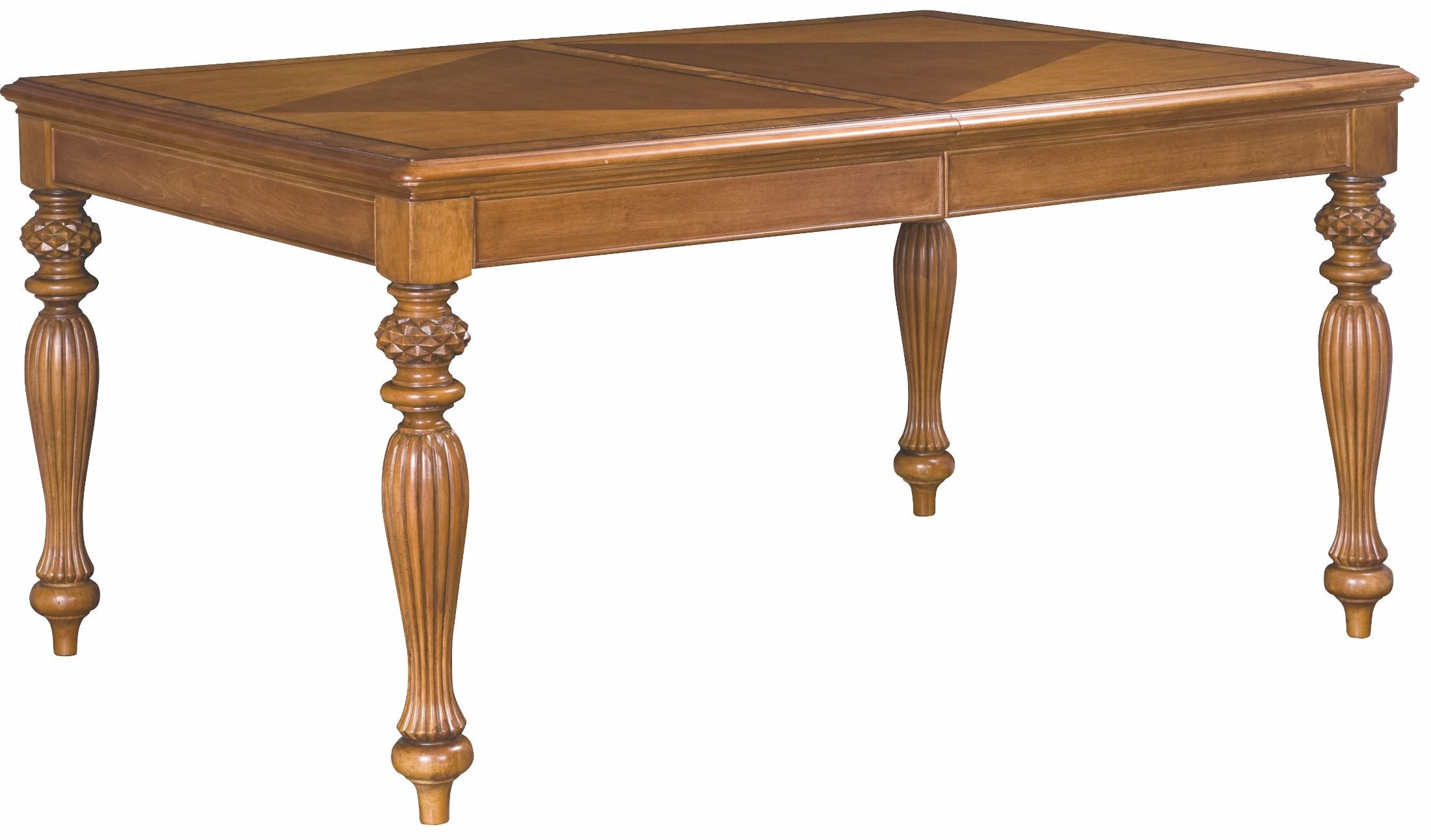 Grand isle amber extendable rectangular leg dining table for One leg dining table