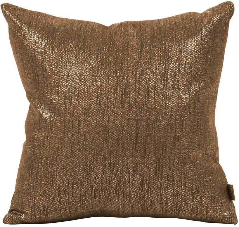 Modern Glam Pillows : Glam Chocolate Small Down Insert Pillow, 1-293F, Howard Elliot