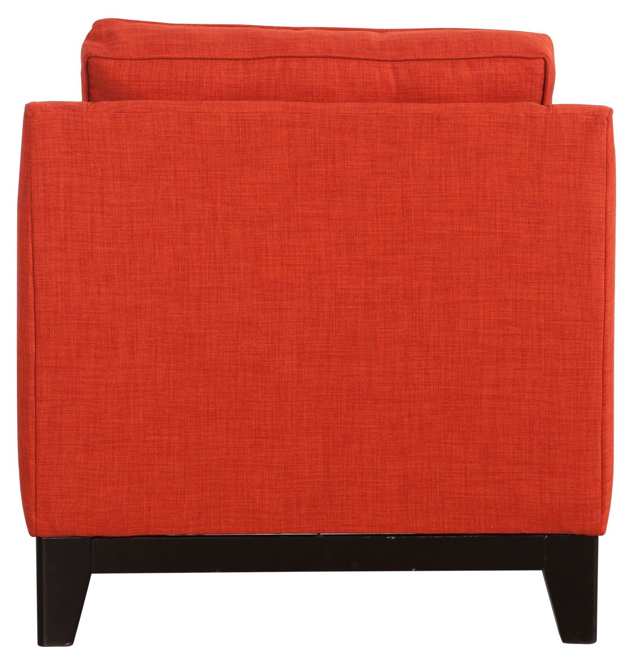 Chicago Burnt Orange Arm Chair From Zuo Mod 100173 Coleman Furniture