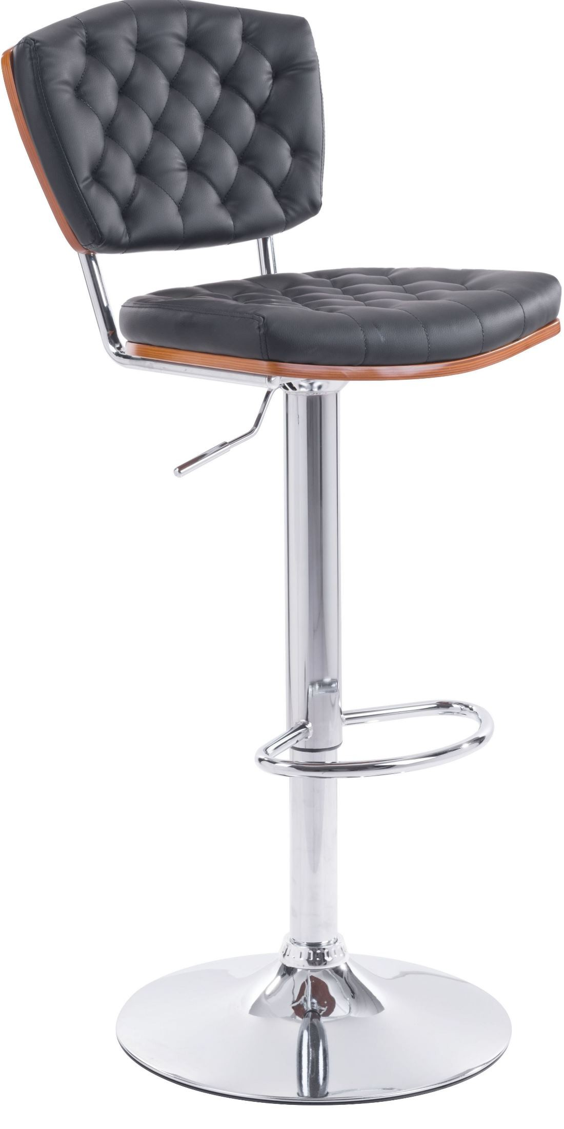 Tiger Black Bar Chair from Zuo Mod 100315 Coleman  : 100315 1 from colemanfurniture.com size 1100 x 2200 jpeg 152kB