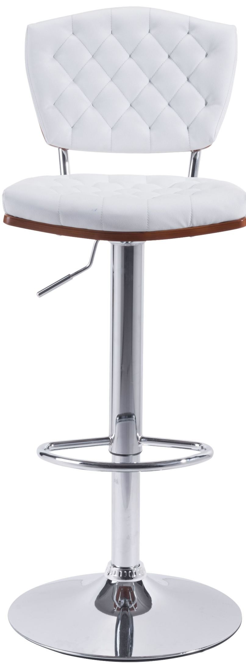 Tiger White Bar Chair From Zuo Mod 100316 Coleman Furniture