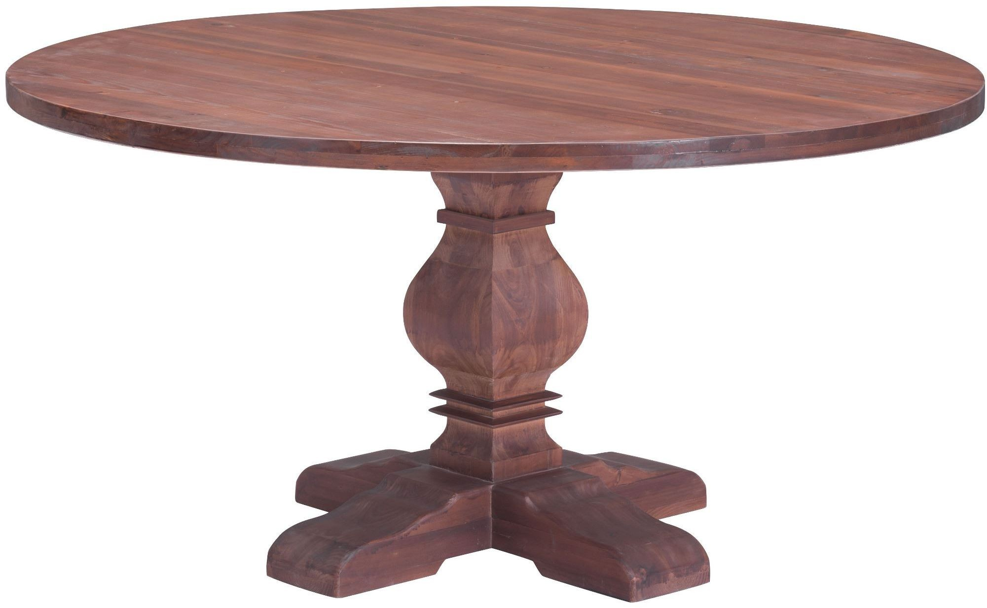 Hastings Distressed Fir Dining Table 100432 Zuo Modern