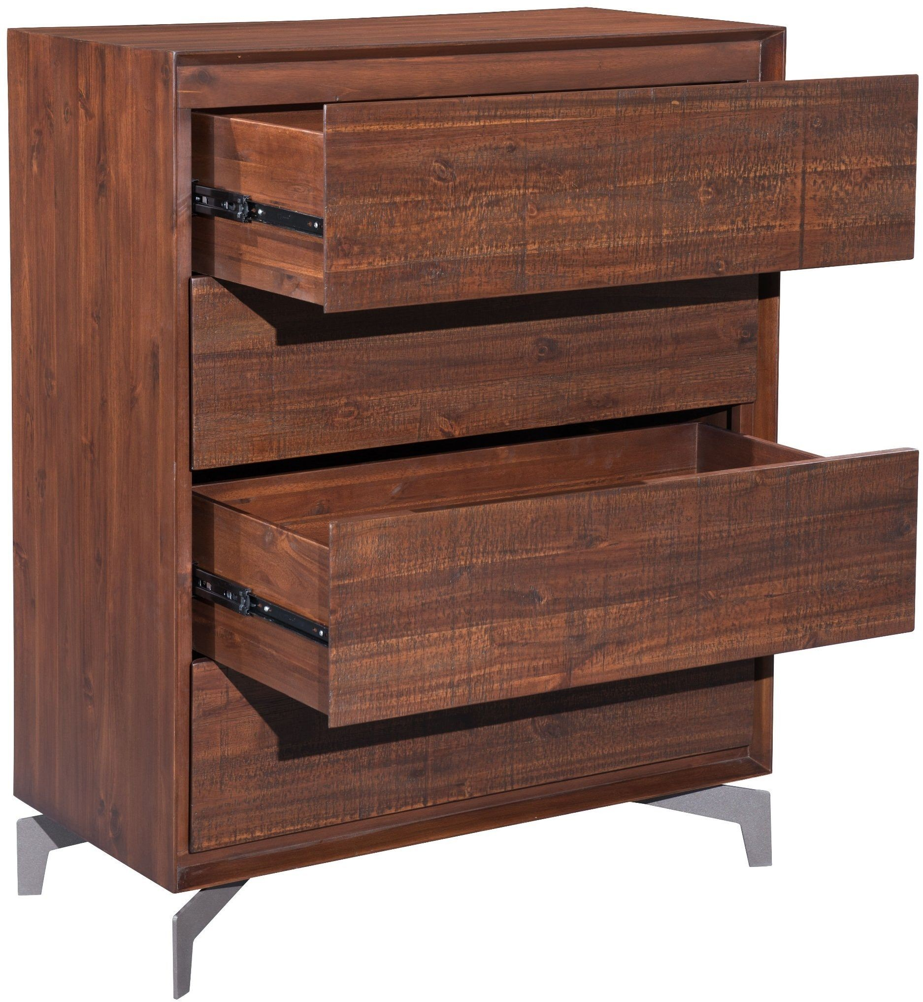 Perth chestnut platform bedroom set 100583 zuo modern for Bedroom furniture perth