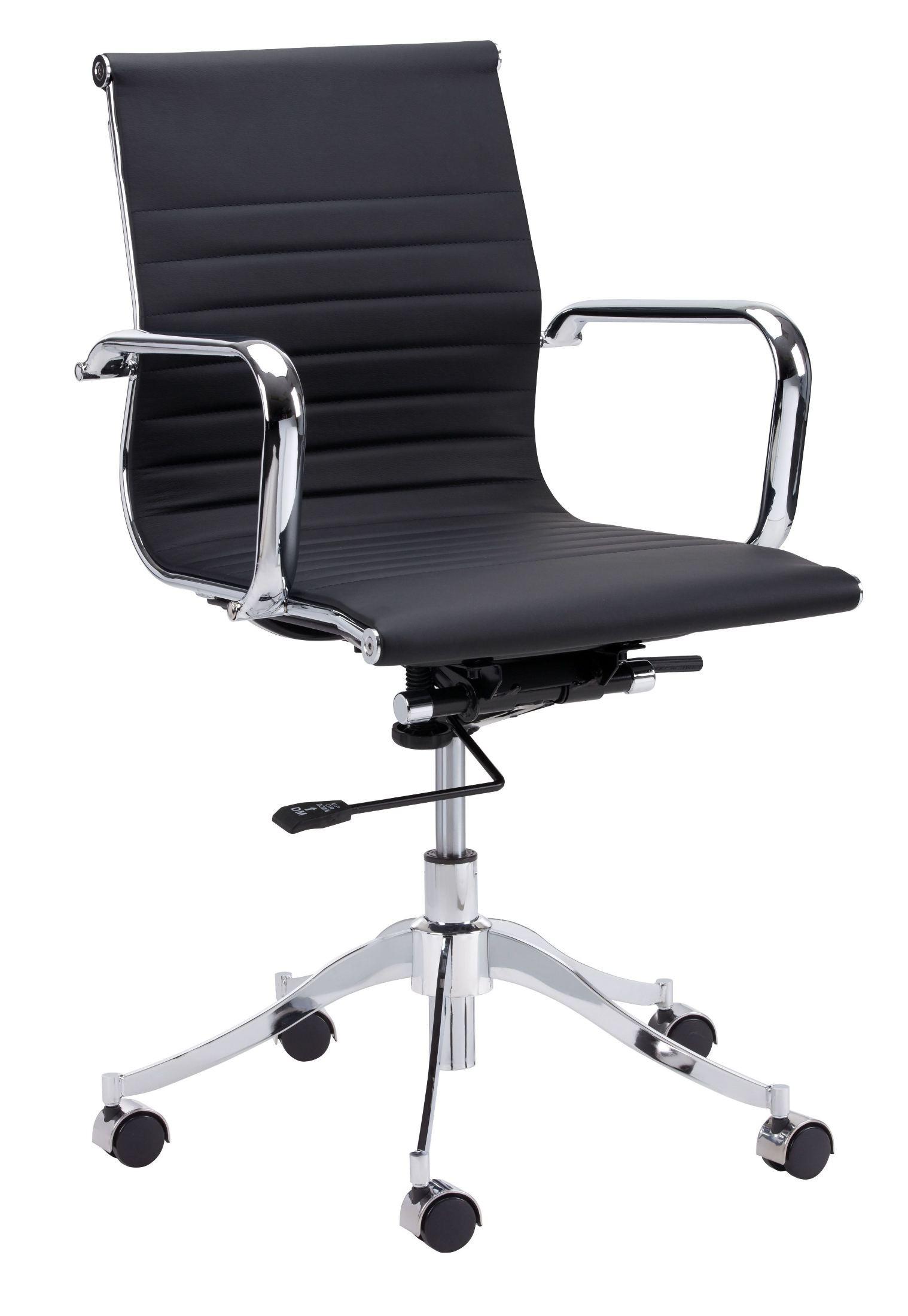 Tyler Onyx Office Chair 100765 Sunpan Modern Home