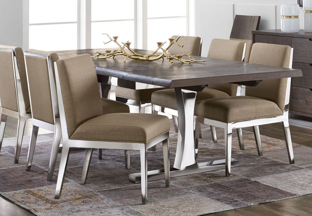 Marquez Extendable Rectangular Dining Room Set 100816 Sunpan Modern Home