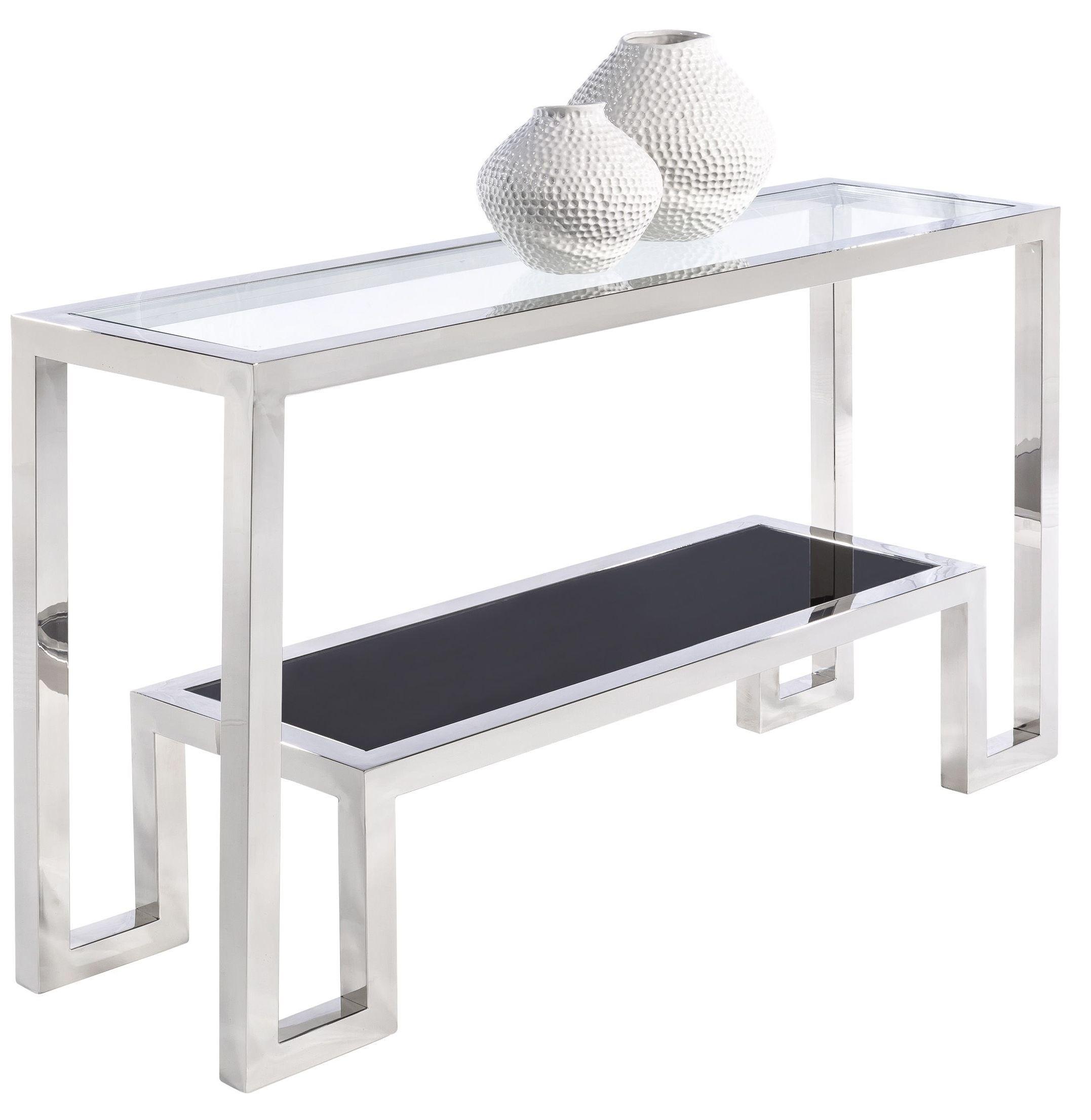 Storm glass top occasional table set 100850 sunpan for Glass top occasional tables