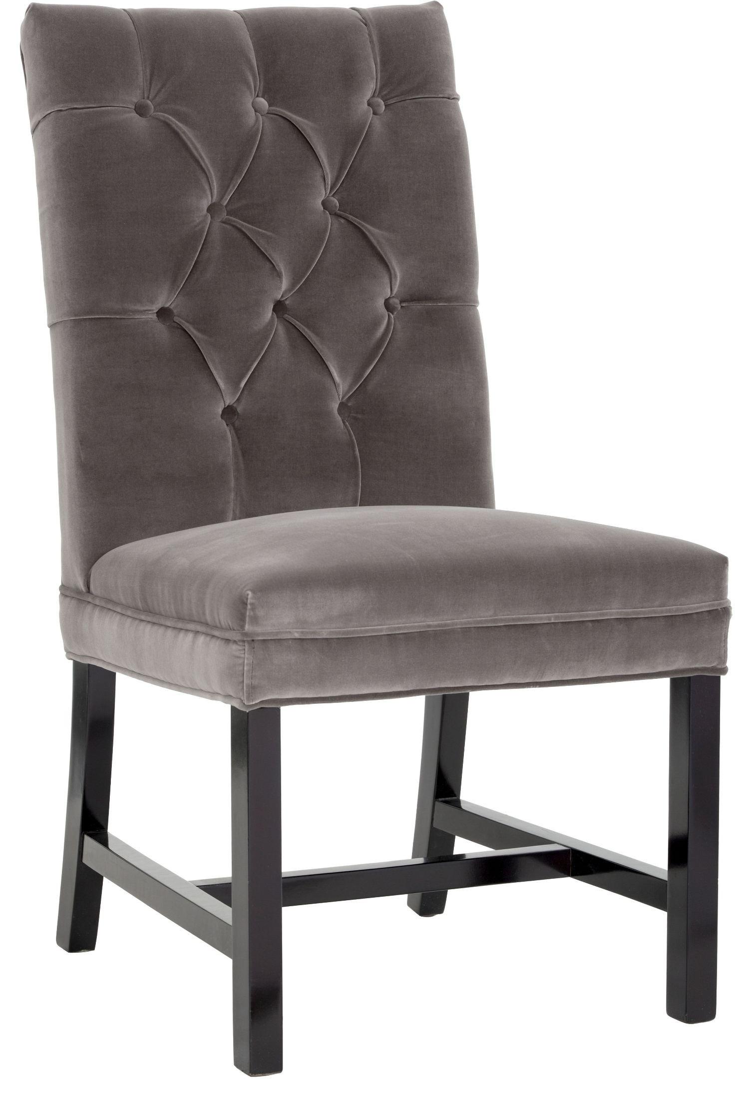 Orwalk Giotto Grey Fabric Dining Chair Sunpan