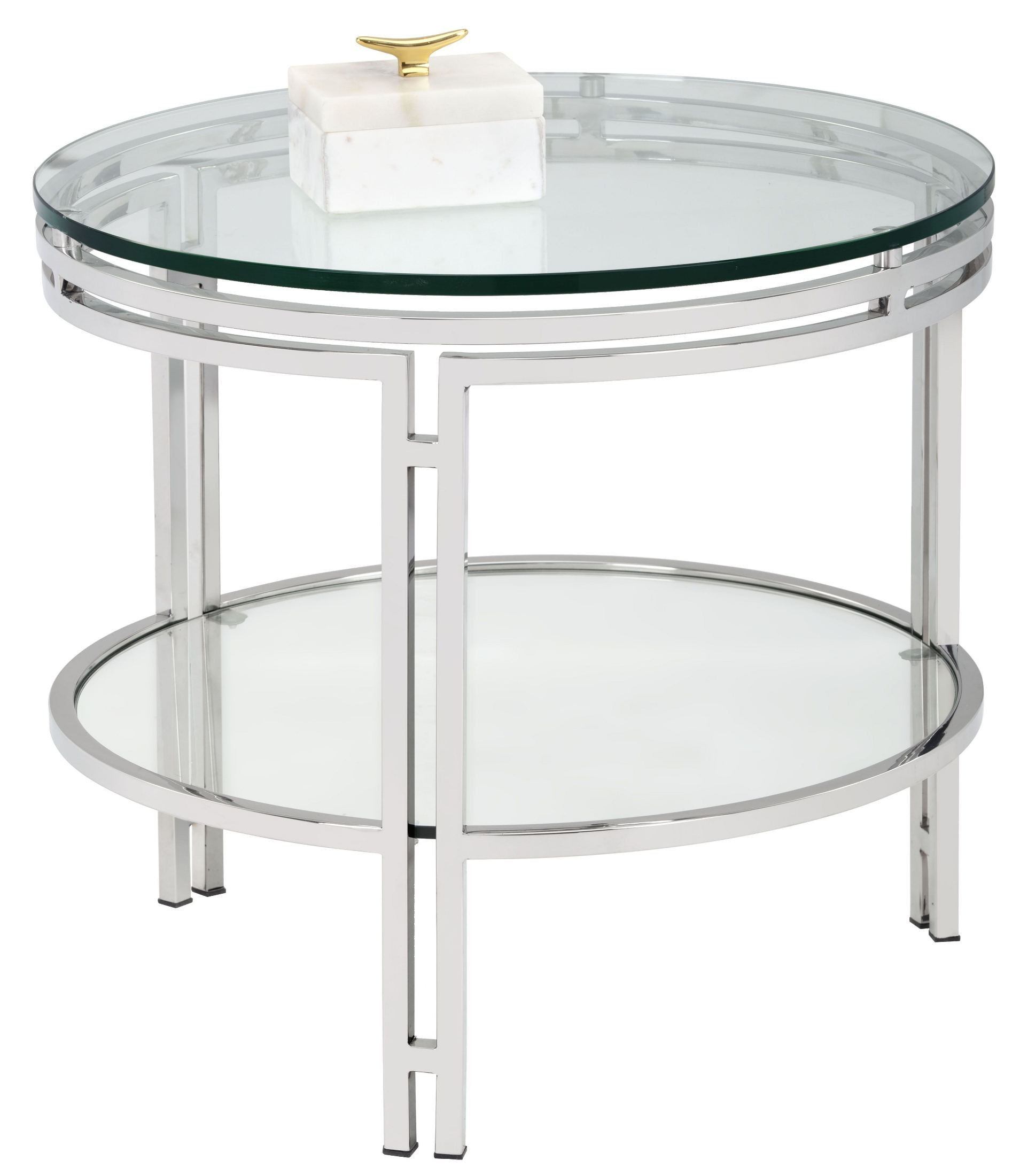 Andros glas top occasional table set 101053 sunpan for Glass top occasional tables