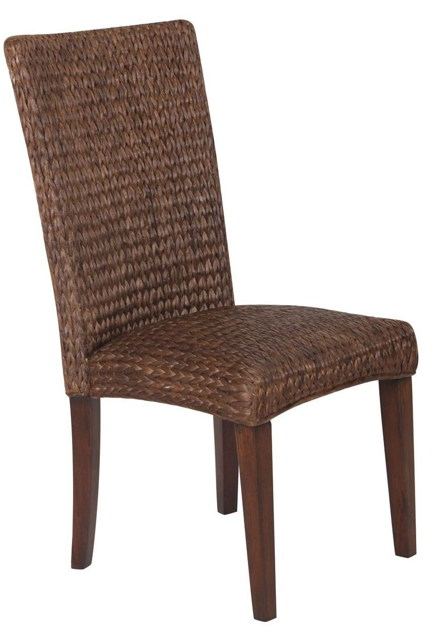 Westbrook Banana Leaf Brown Side Chair Set Of 2 From Coaster 101094 Coleman Furniture
