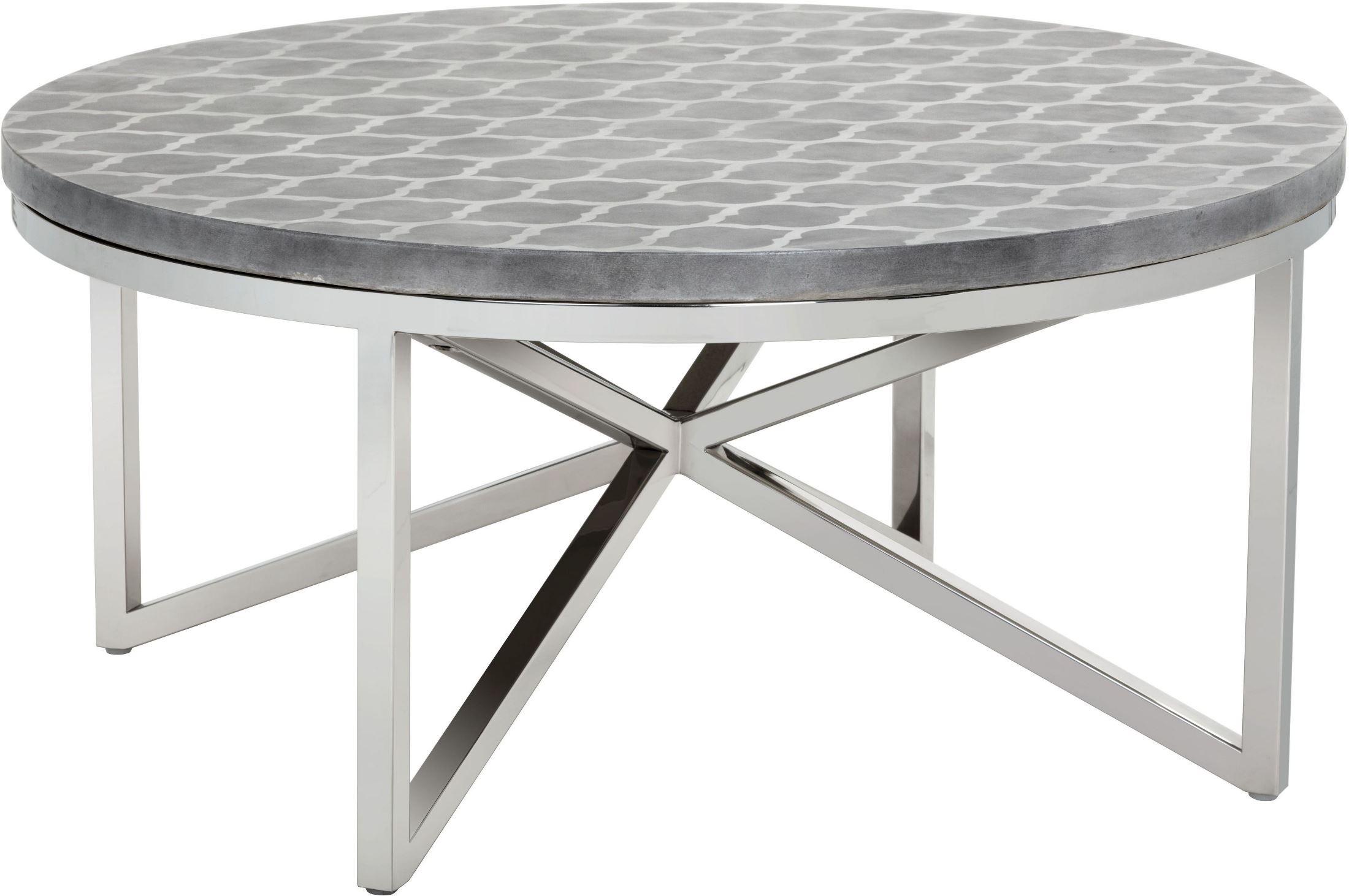Dion stencil geometric coffee table 101431 sunpan modern for Geometric coffee table