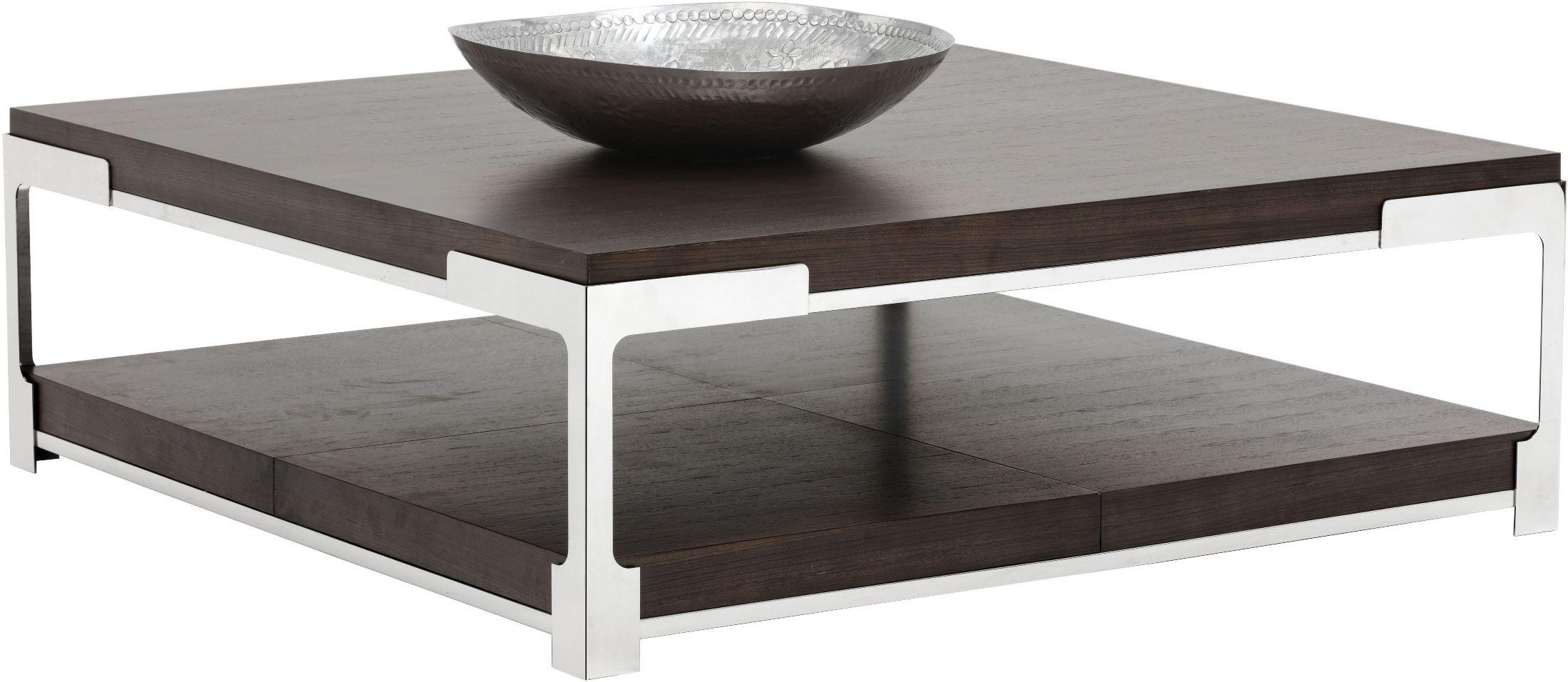 davenport dark zebra square coffee table 101517 sunpan modern home. Black Bedroom Furniture Sets. Home Design Ideas