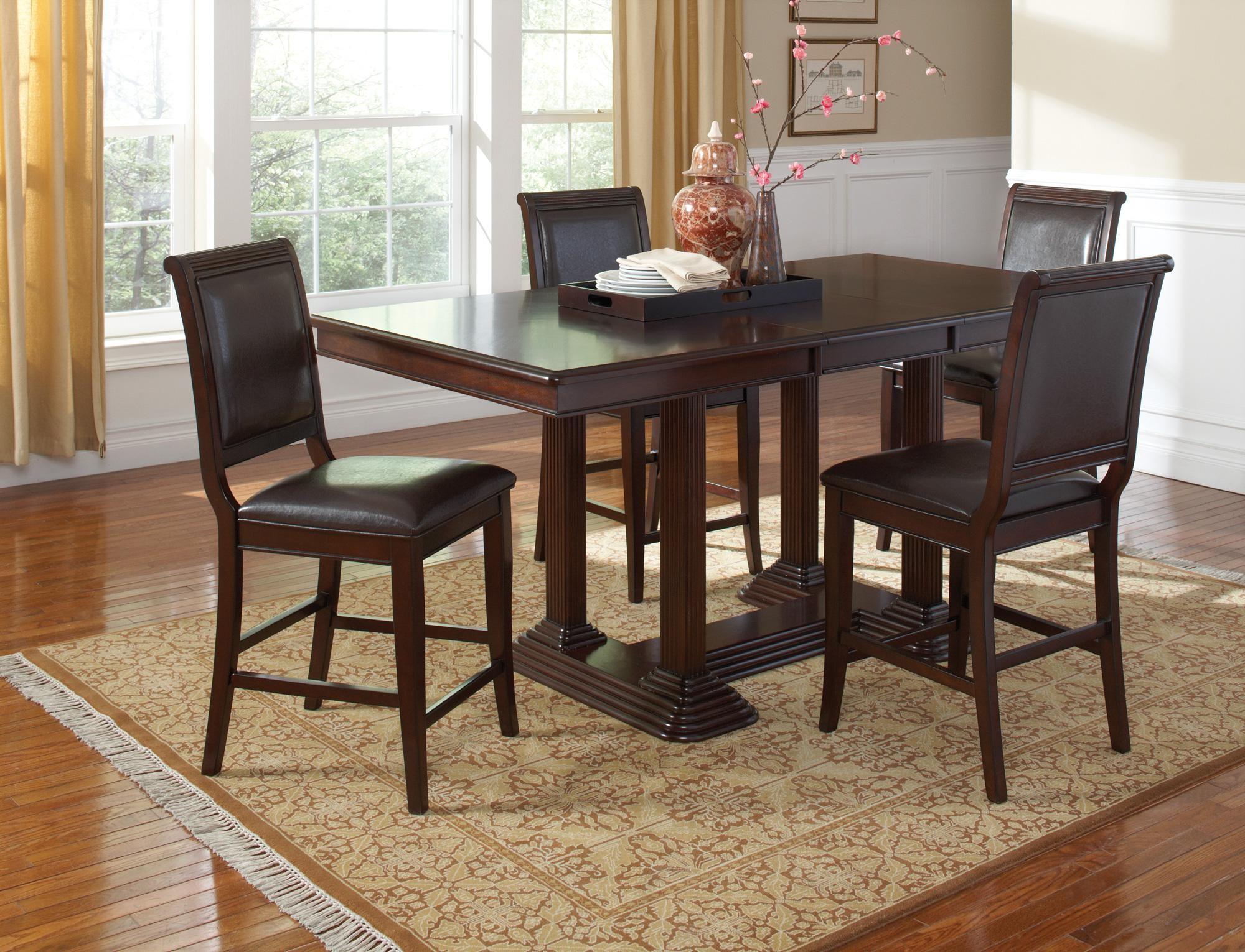 Counter Height Rectangular Dining Set : Sullivan Rectangular Counter Height Dining Room Set, 101978, Coaster ...