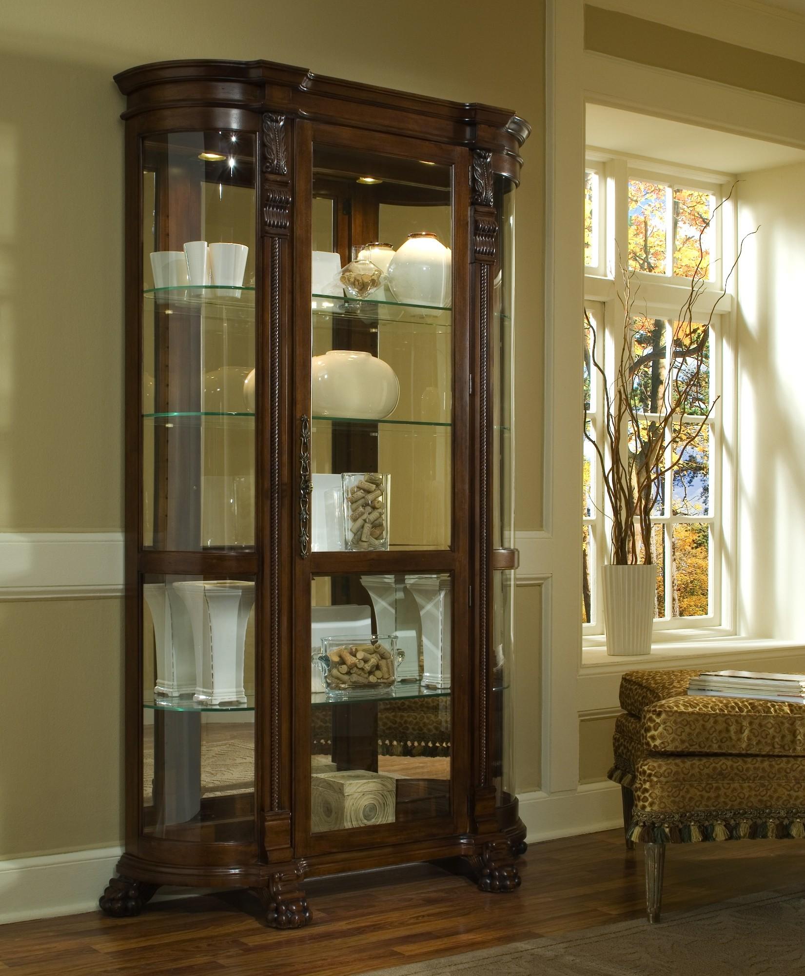 Foxcroft Curio Cabinet From Pulaski 102003 Coleman Furniture