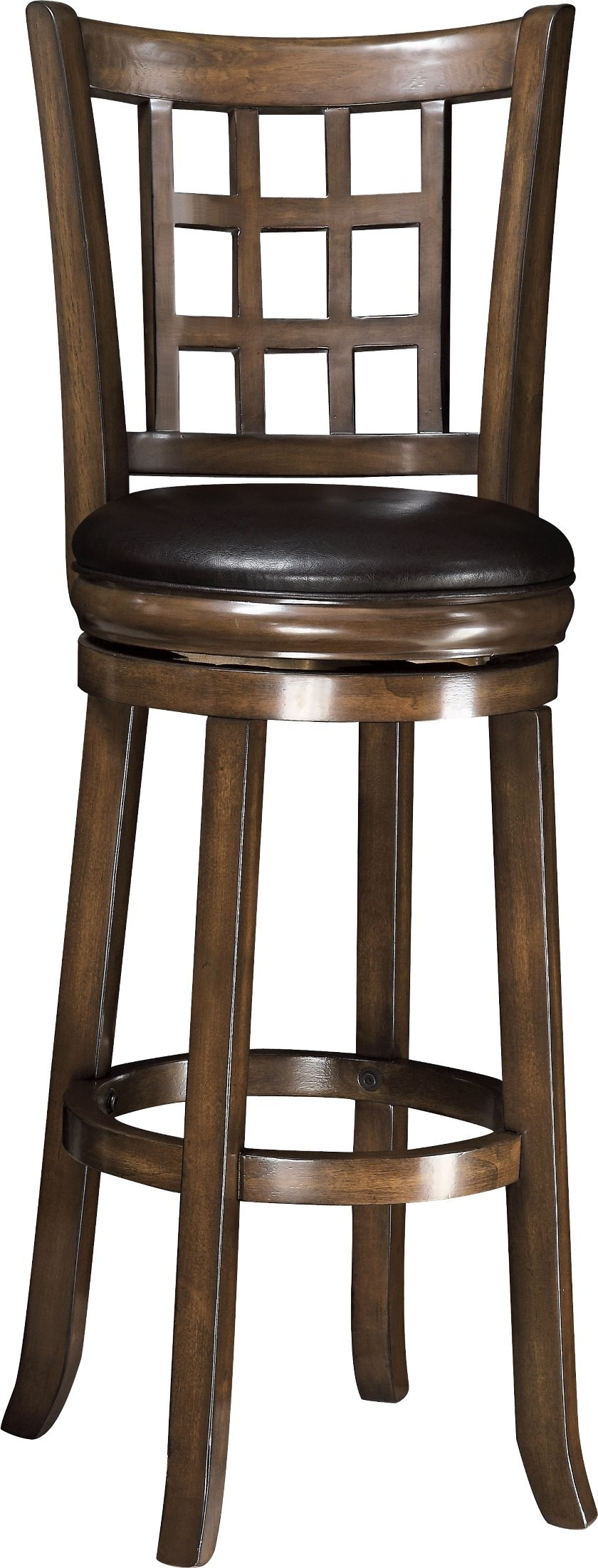 102640 Oak 29 Quot H Swivel Bar Stool From Coaster 102640