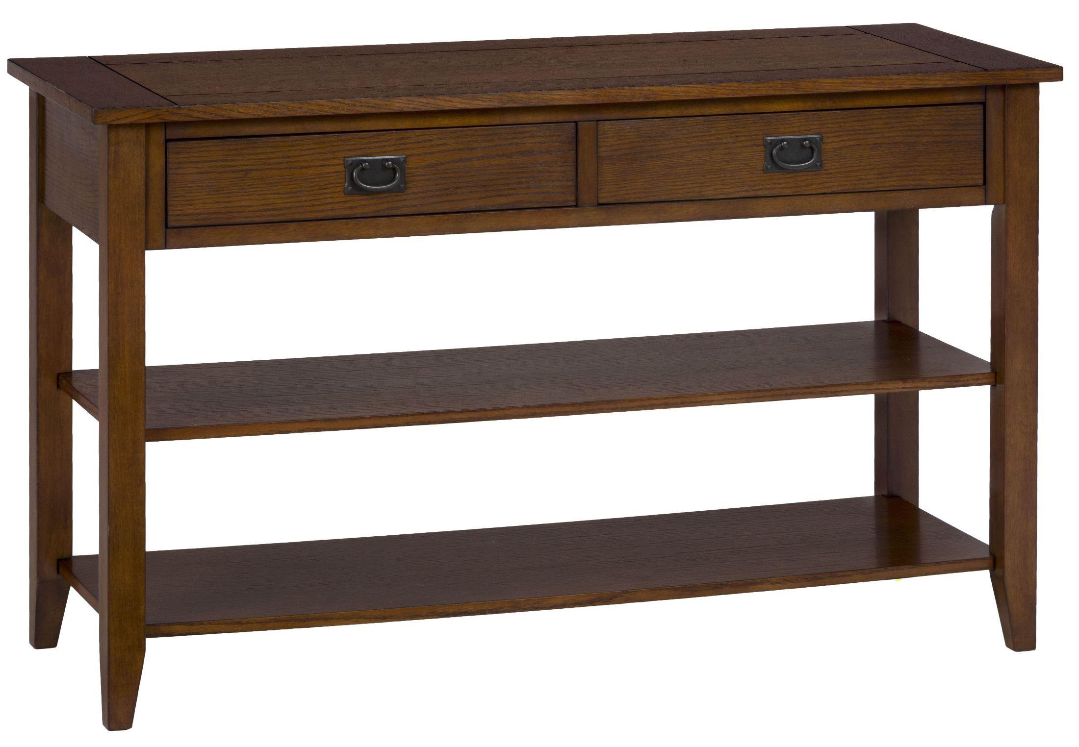 Mission oak sofa table 1032 4 jofran for 5 sofa table