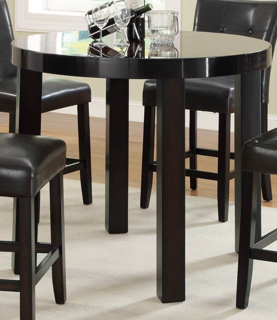 Orlando Round Counter Height Dining Room Set 103798 Coaster Furniture