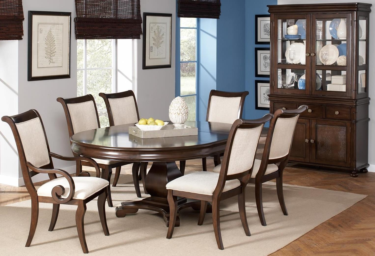 harris oval dining room set from coaster 104111 coleman furniture
