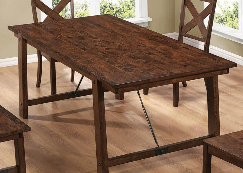 Counter Height Rectangular Table : Lawson Rectangular Counter Height Table from Coaster (104188 ...