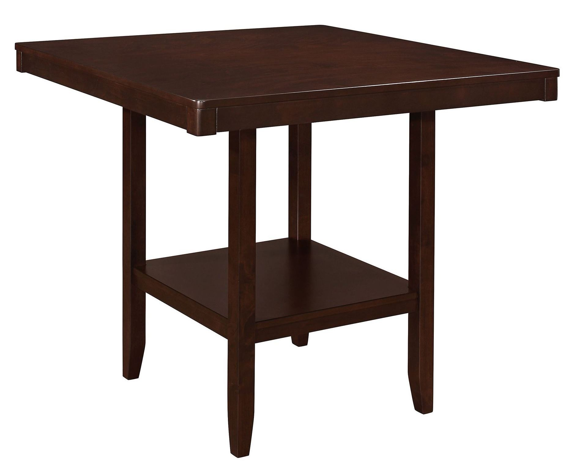 Fattori Espresso Counter Height Dining Table from Coaster  : 105308 c from colemanfurniture.com size 1896 x 1544 jpeg 144kB