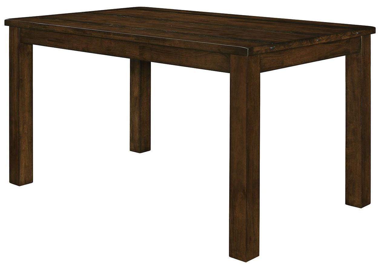 Counter Height Rustic Table : Wiltshire Rustic Pecan Counter Height Table, 106368, Coaster Furniture