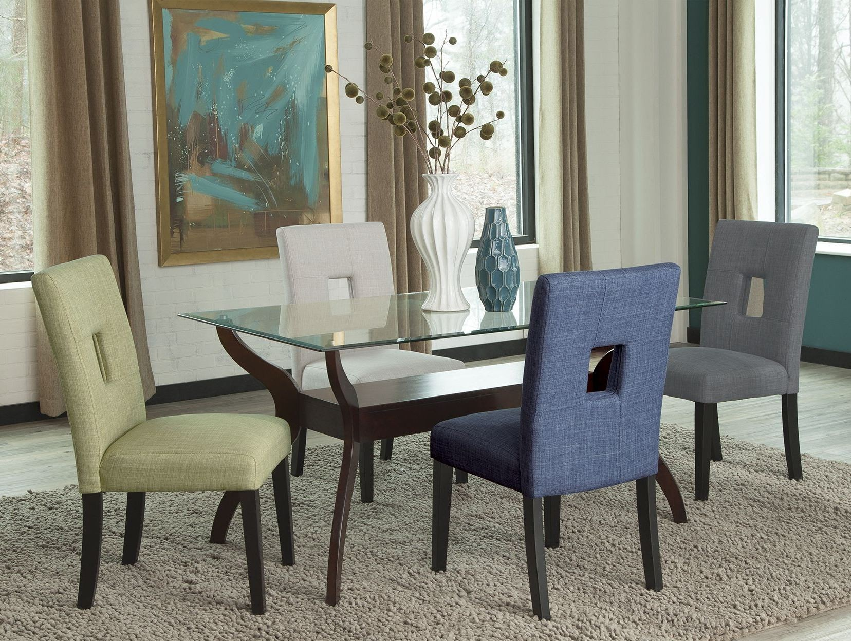 andenne cappuccino dining room set 106501 cb60rt coaster better home improvement gadgets reviews part 1090