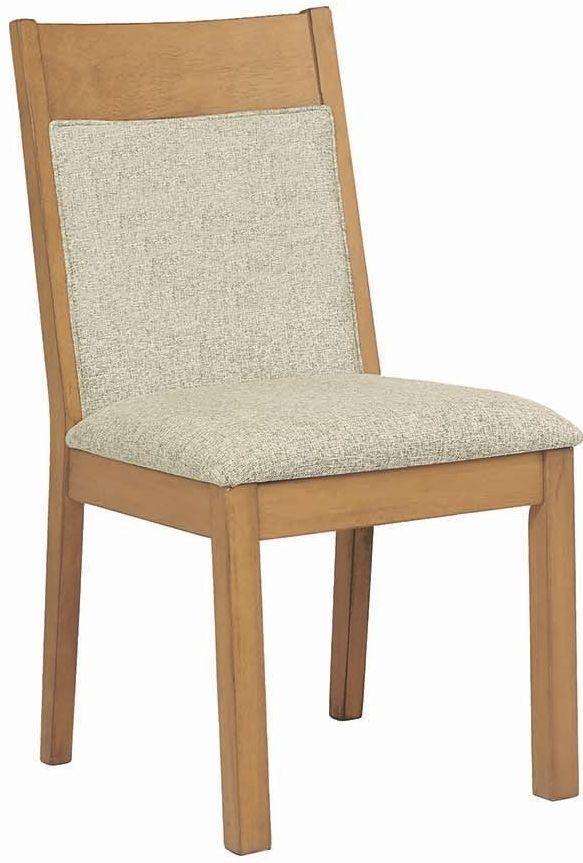 white oak rectangular dining room set 107221 coaster furniture