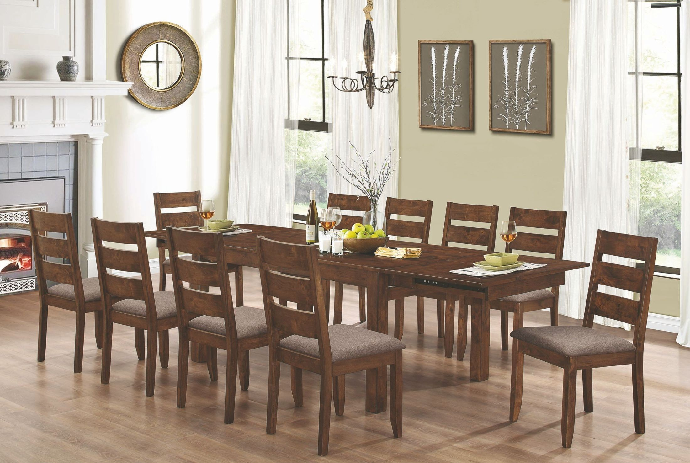 Square Extendable Dining Room Tables Darcey Extendable