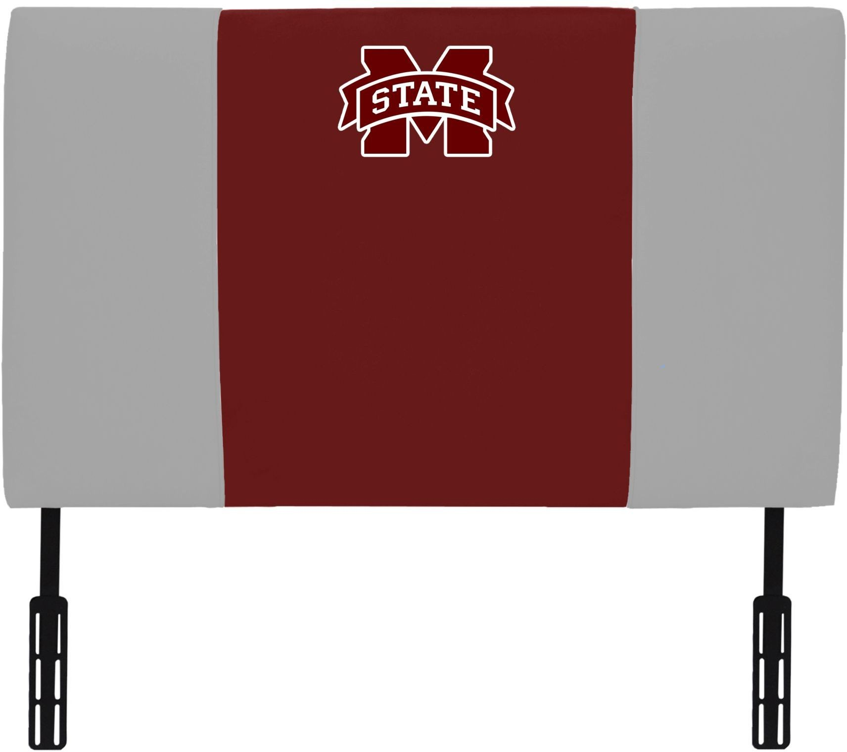 American Collegiate Mississippi State University Upholstered Twin Headboard 1100 1 Msst Aa