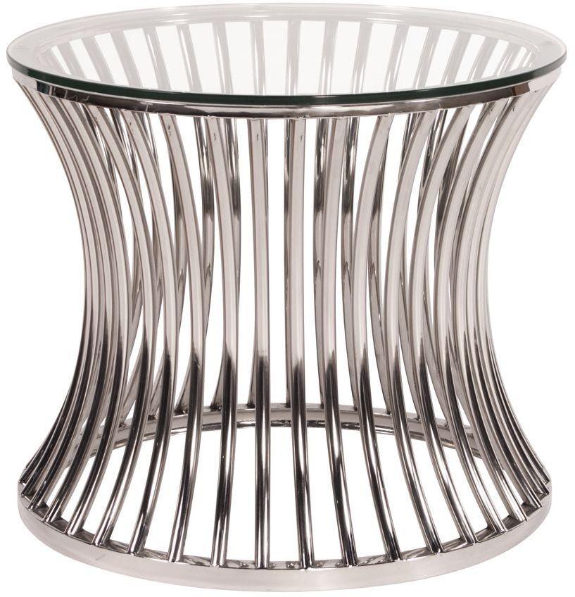 Stainless Steel Side Table 11190 Howard Elliot