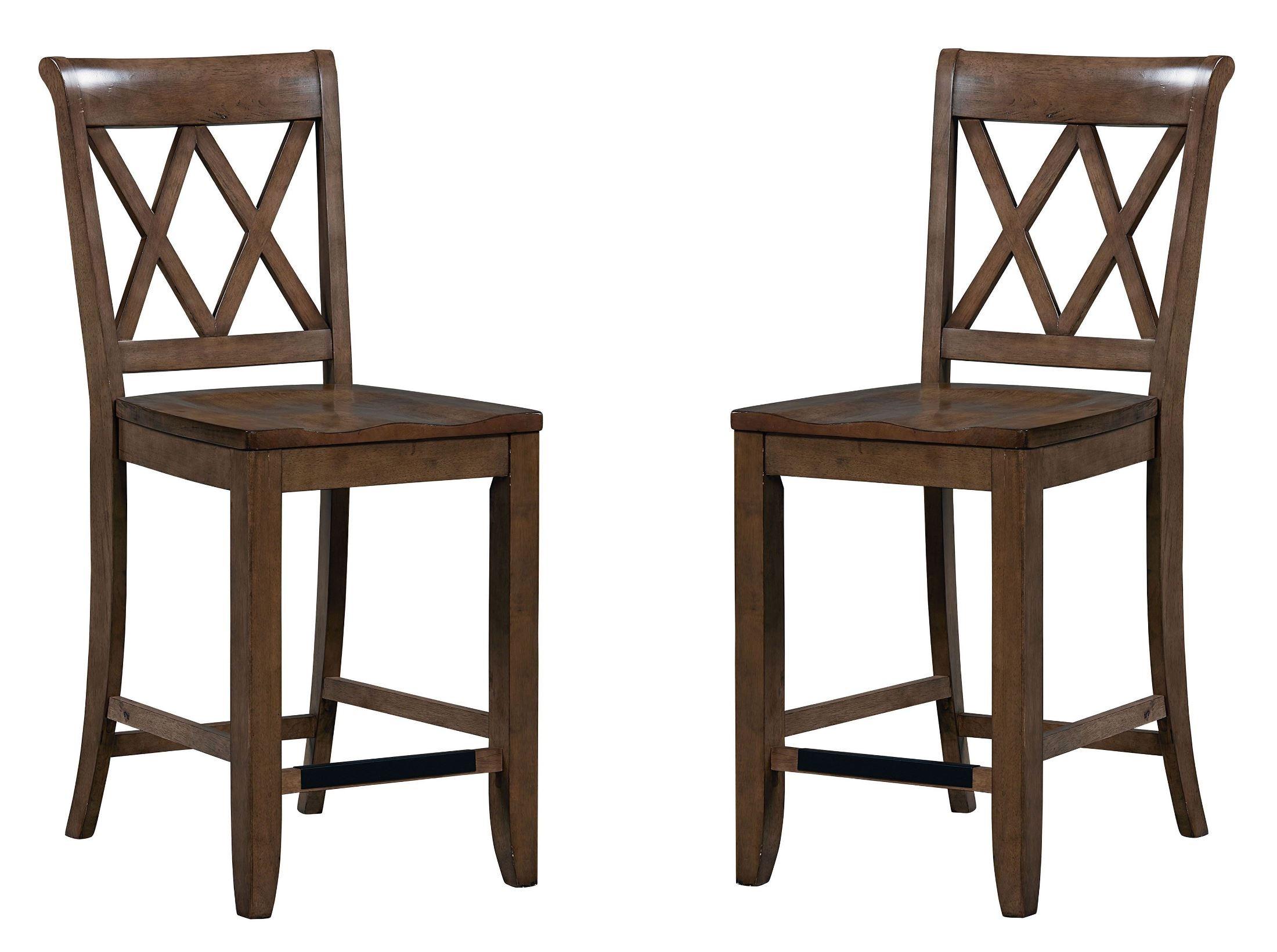 Counter Height X Back Chairs : Bar Furniture > Bar Stools, Counter Stools > Counter Seat Height ...