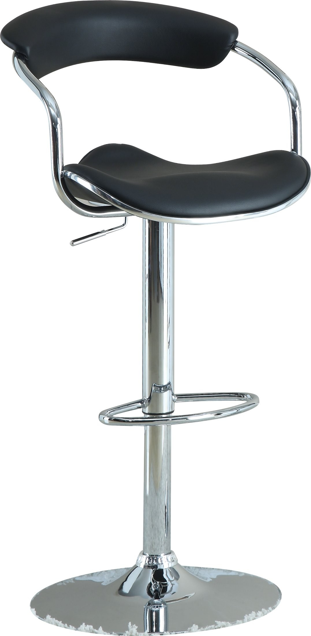 Modern Black Adjustable Bar Stool Set of 2 from Coaster  : 120386 mask from colemanfurniture.com size 1077 x 2200 jpeg 166kB