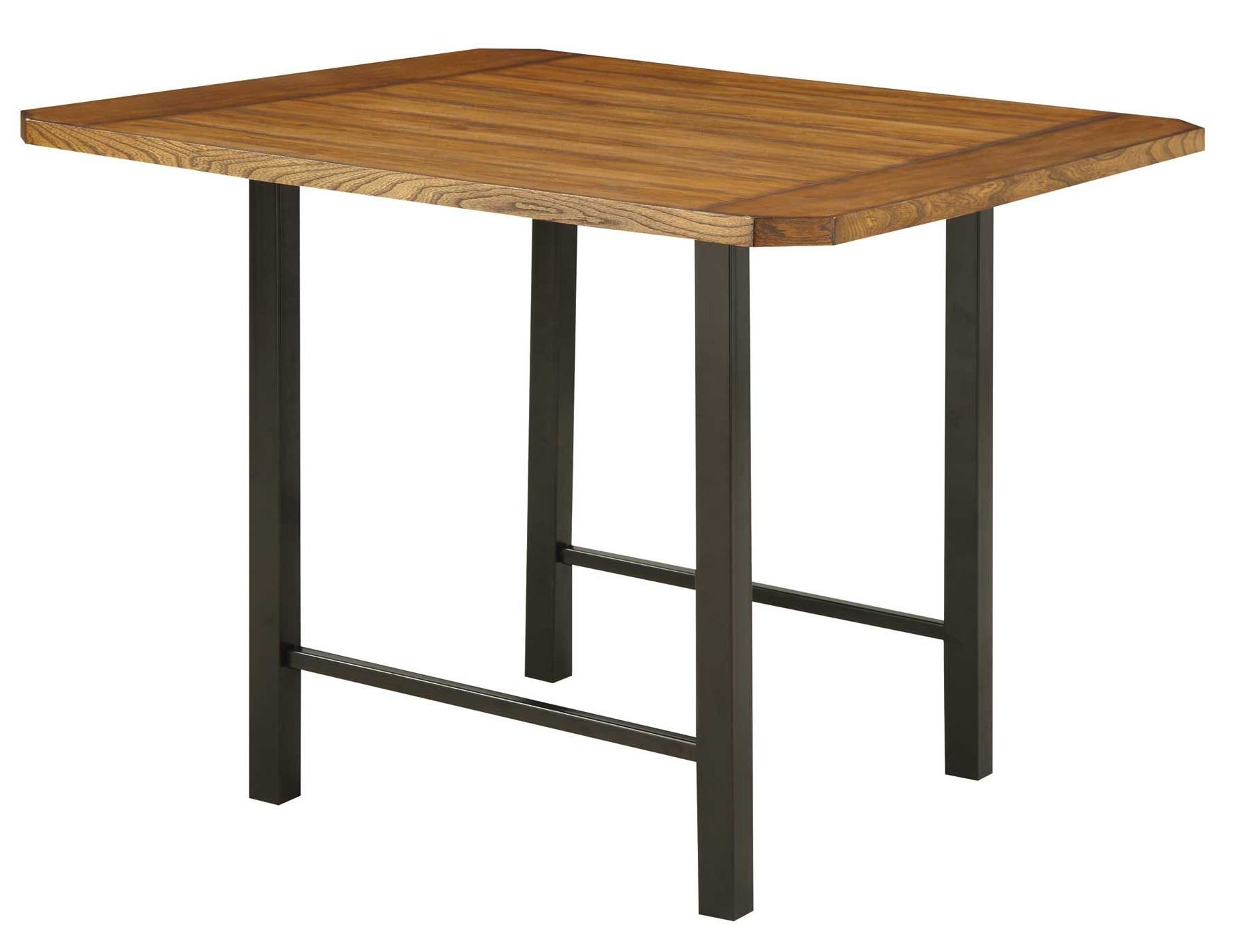 Sheldon Square Counter Height Dining Table From Coaster 121608