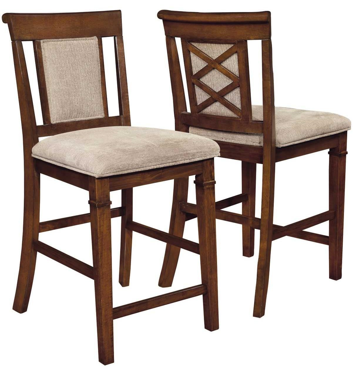 Pembrook Upholstered Counter Height Stool Set of 2 from Coaster ...
