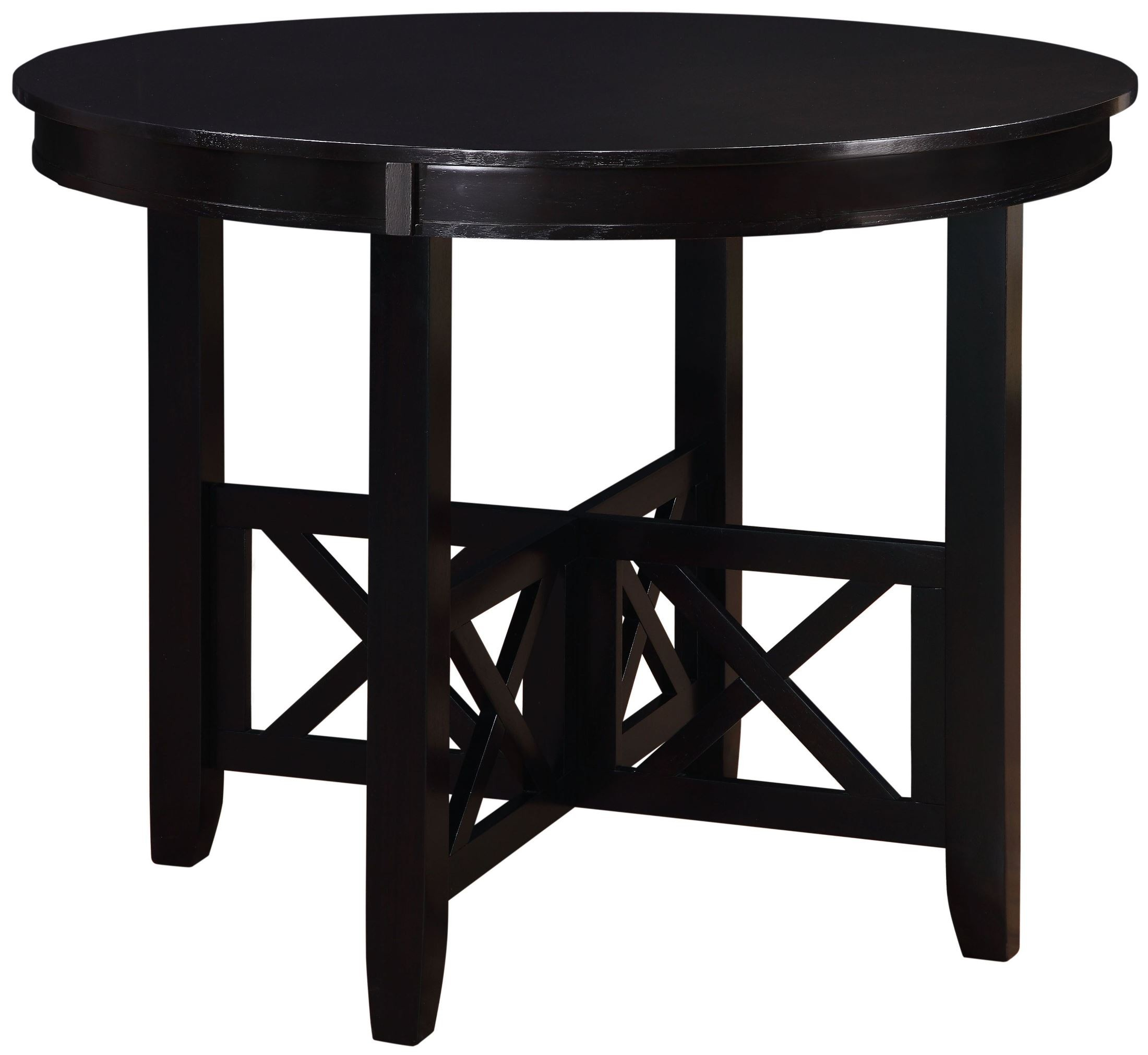 Epiphany Dark Java Brown Counter Height Dining Room Set