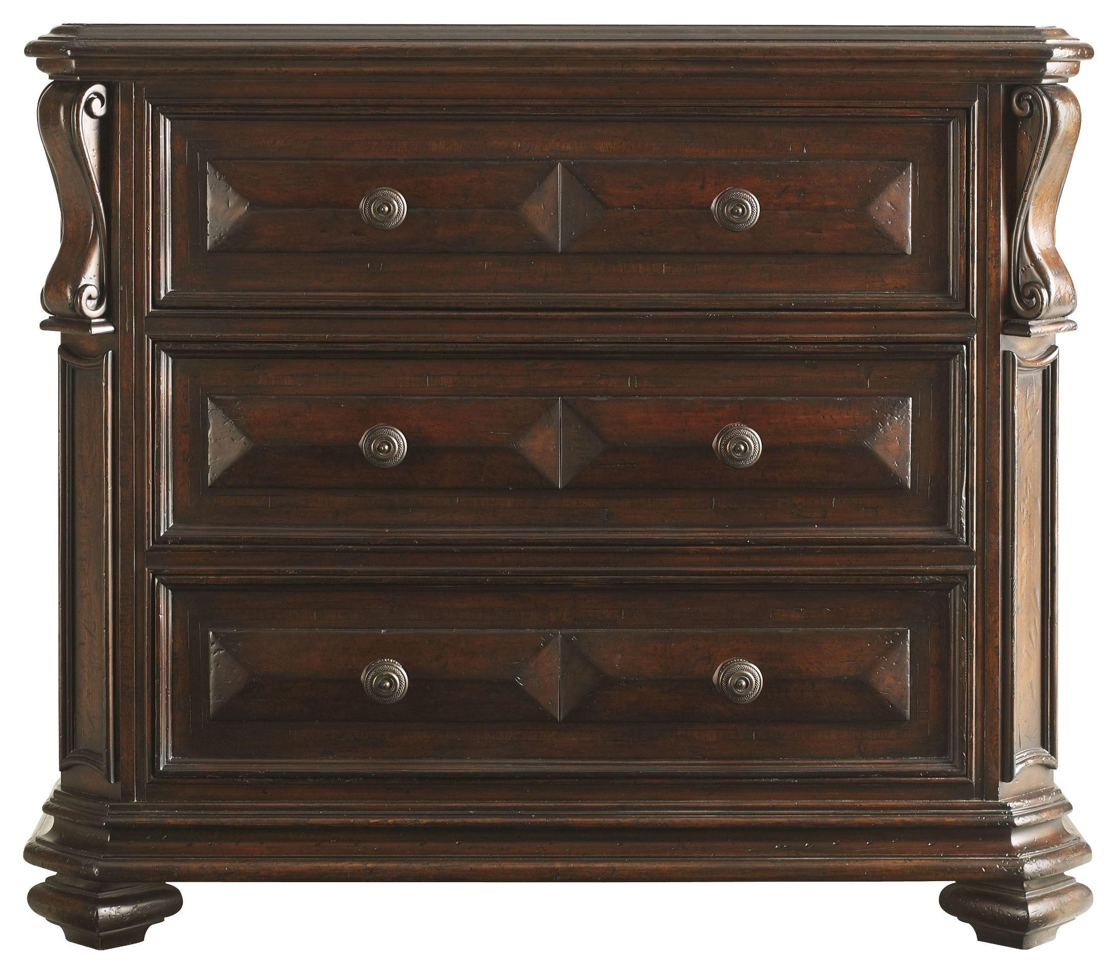 Portfolio Continental Barrel Mansion Bedroom Set From Stanley 128 13 40 Coleman Furniture