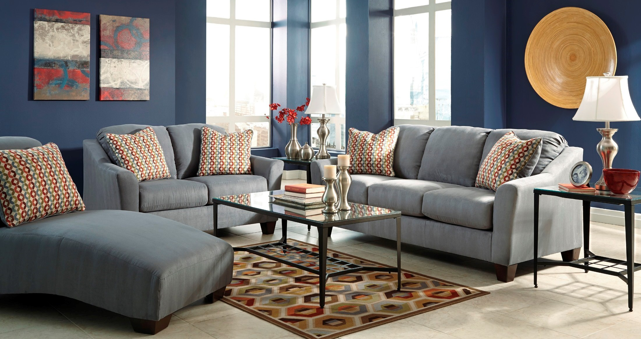 Hannin Lagoon Living Room Set From Ashley 95802 38 35 Coleman Furniture
