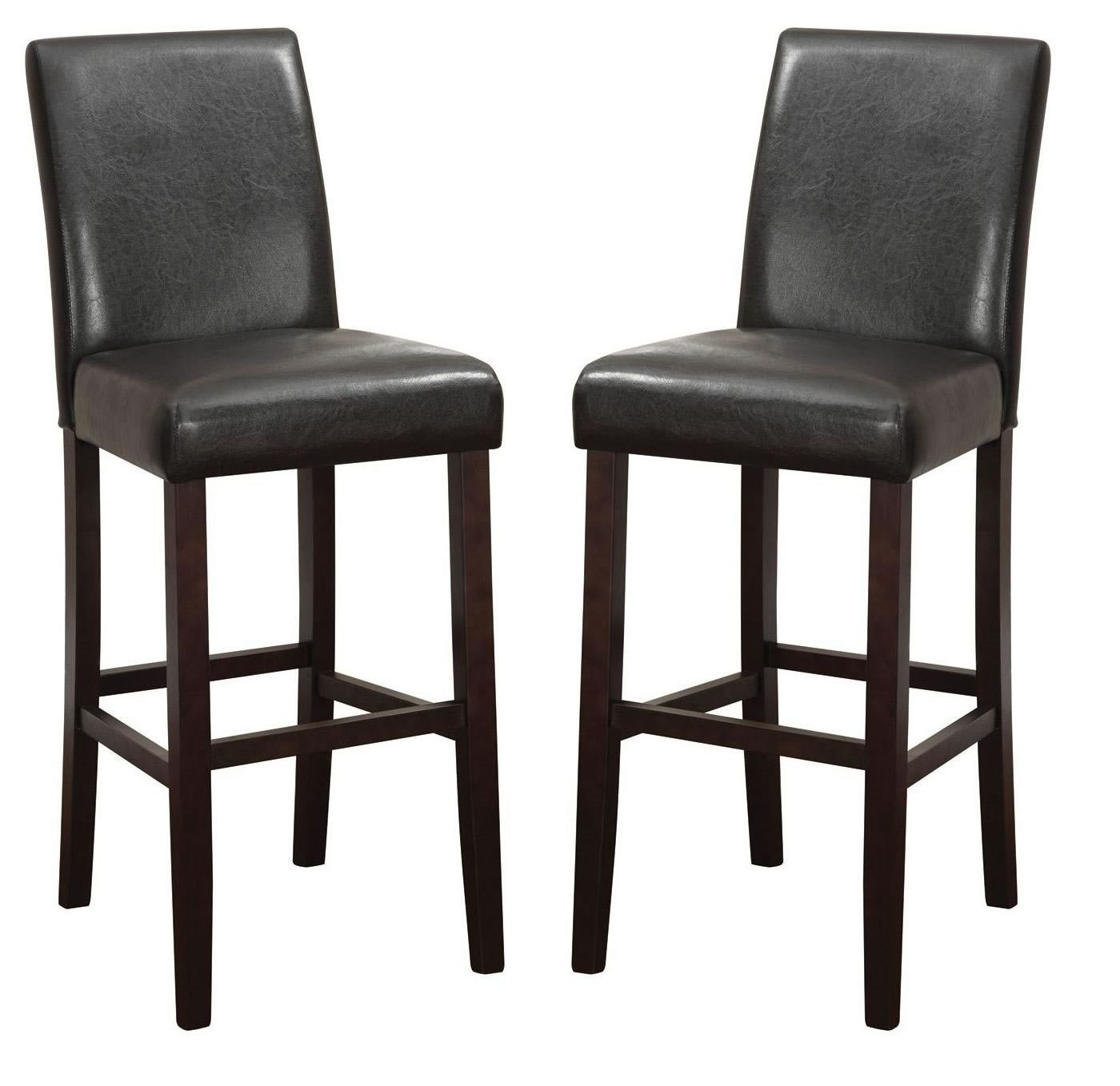 Parson 29 Quot Counter Height Bar Stool Set Of 2 From Coaster