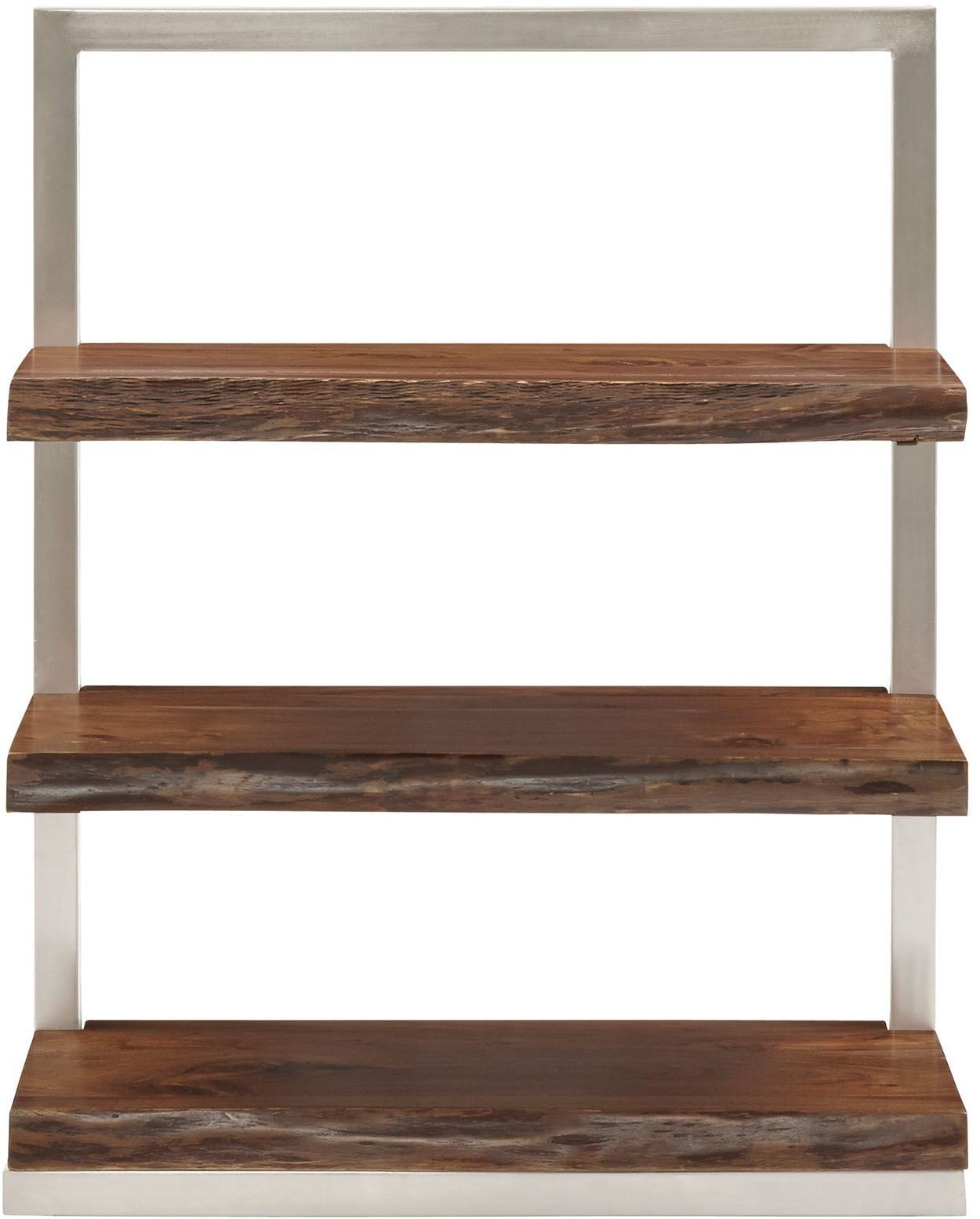 Climber Silver Short Shelving Unit 13479 Accents