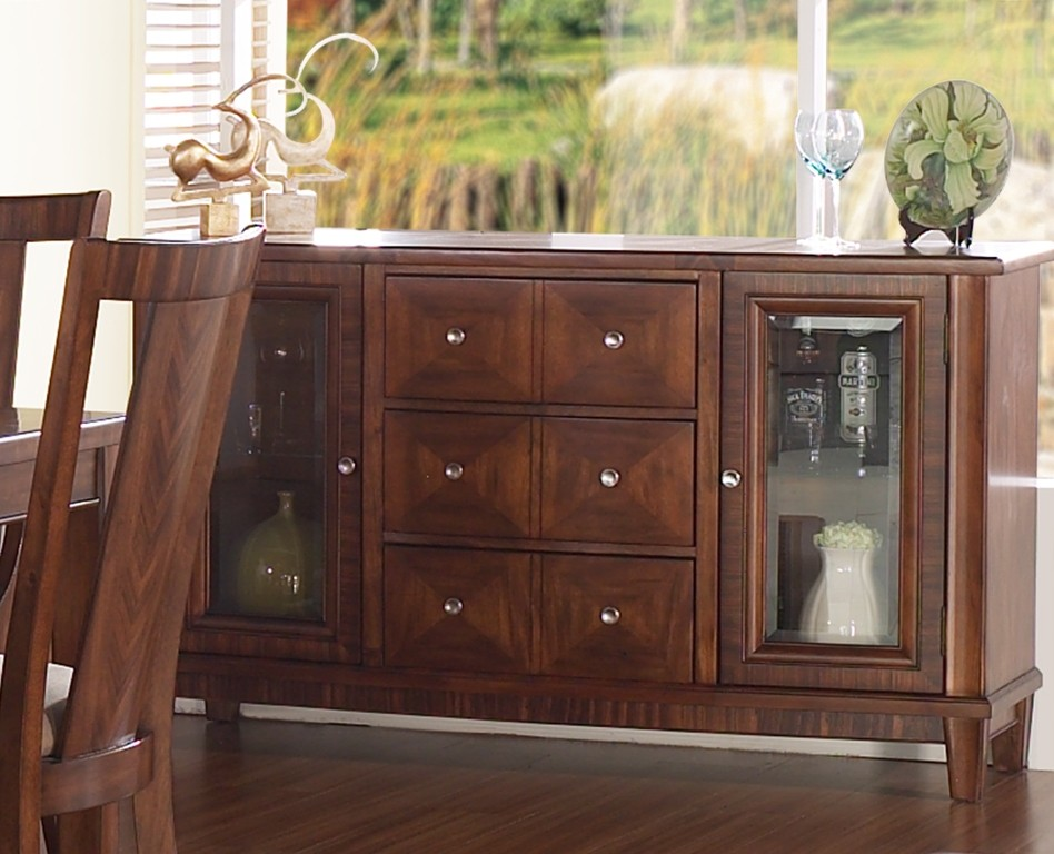 Runway Dining Room Server From Somerton Dwelling 140 73 Coleman Furniture