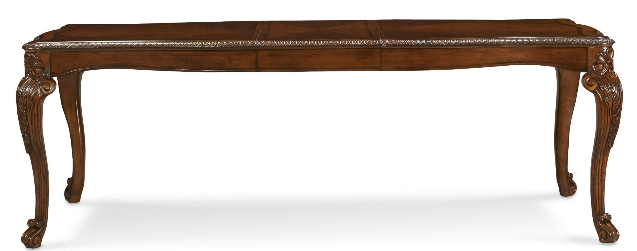Old World Extendable Dining Table From ART 143220 2606 Coleman Furniture