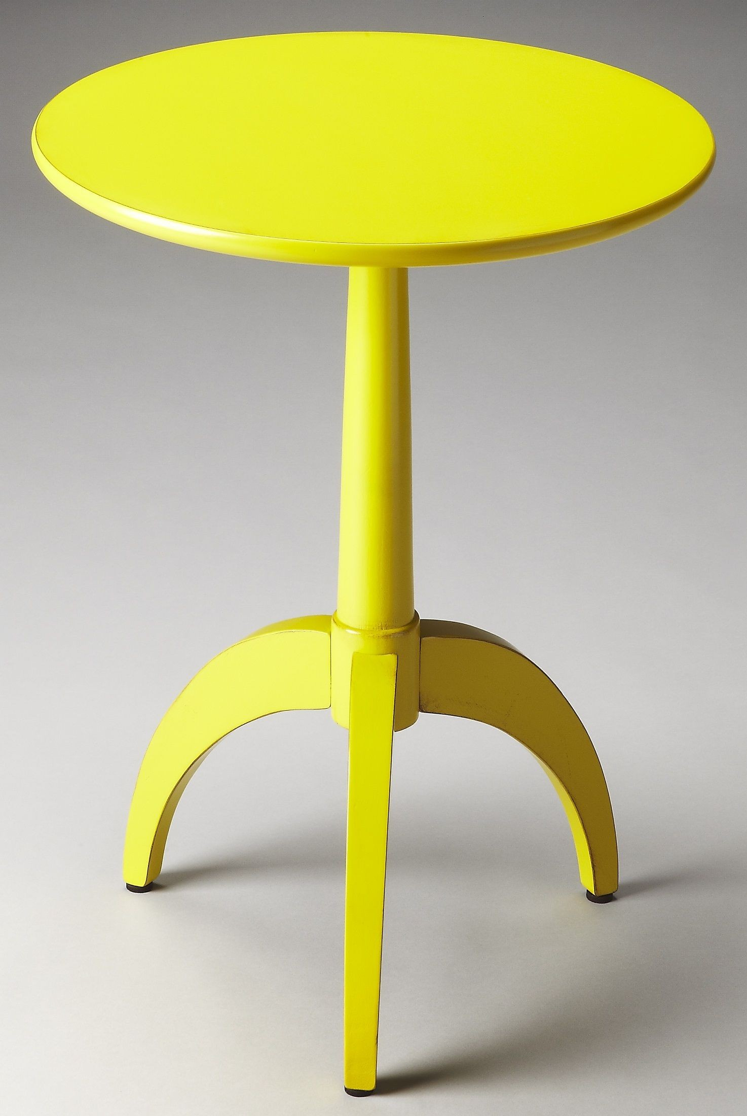 burbank loft yellow accent table from butler 1488289 coleman furniture