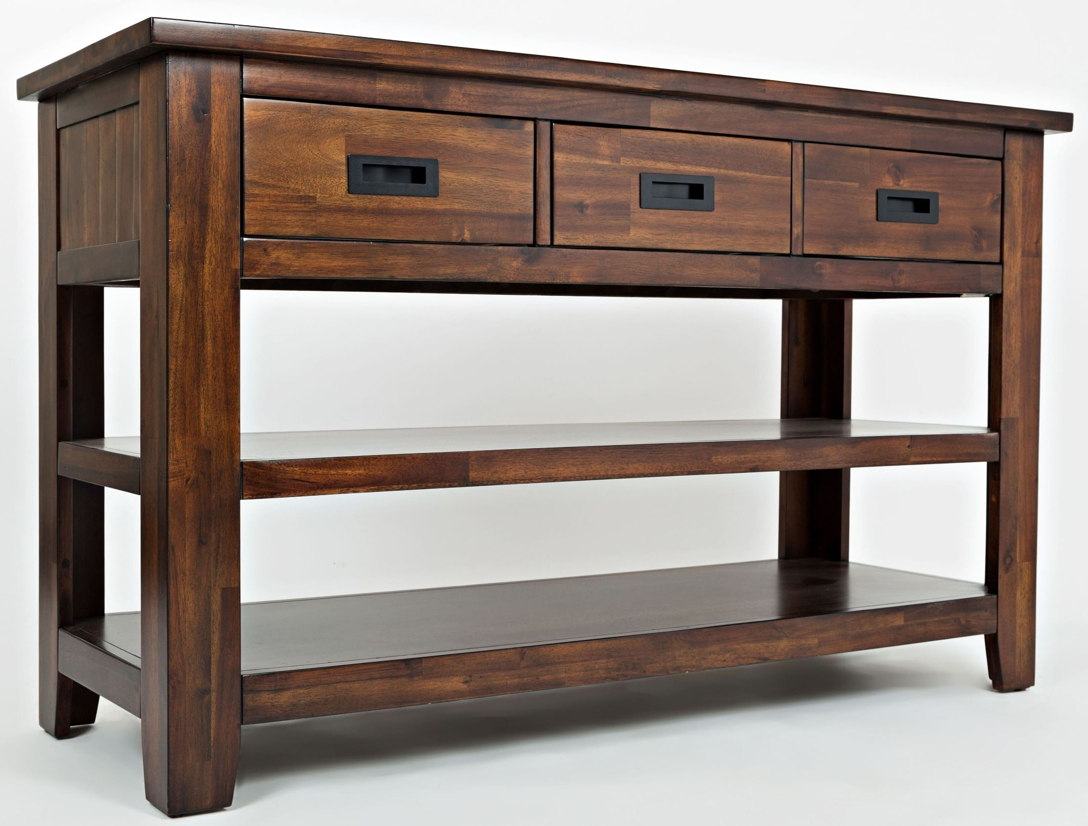 Coolidge corner sofa media table 1500 4 jofran - Table console brookline ...