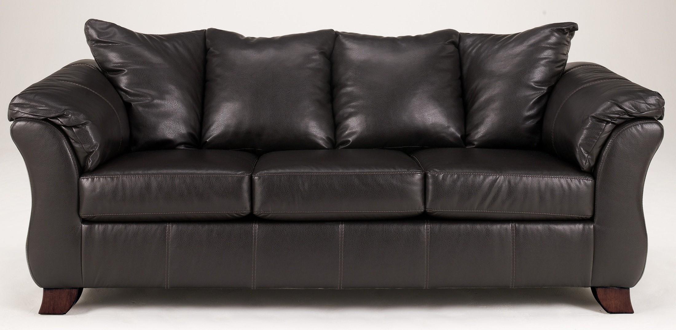 San marco durablend chocolate sofa 1500138 ashley furniture for Ashley san marco chaise
