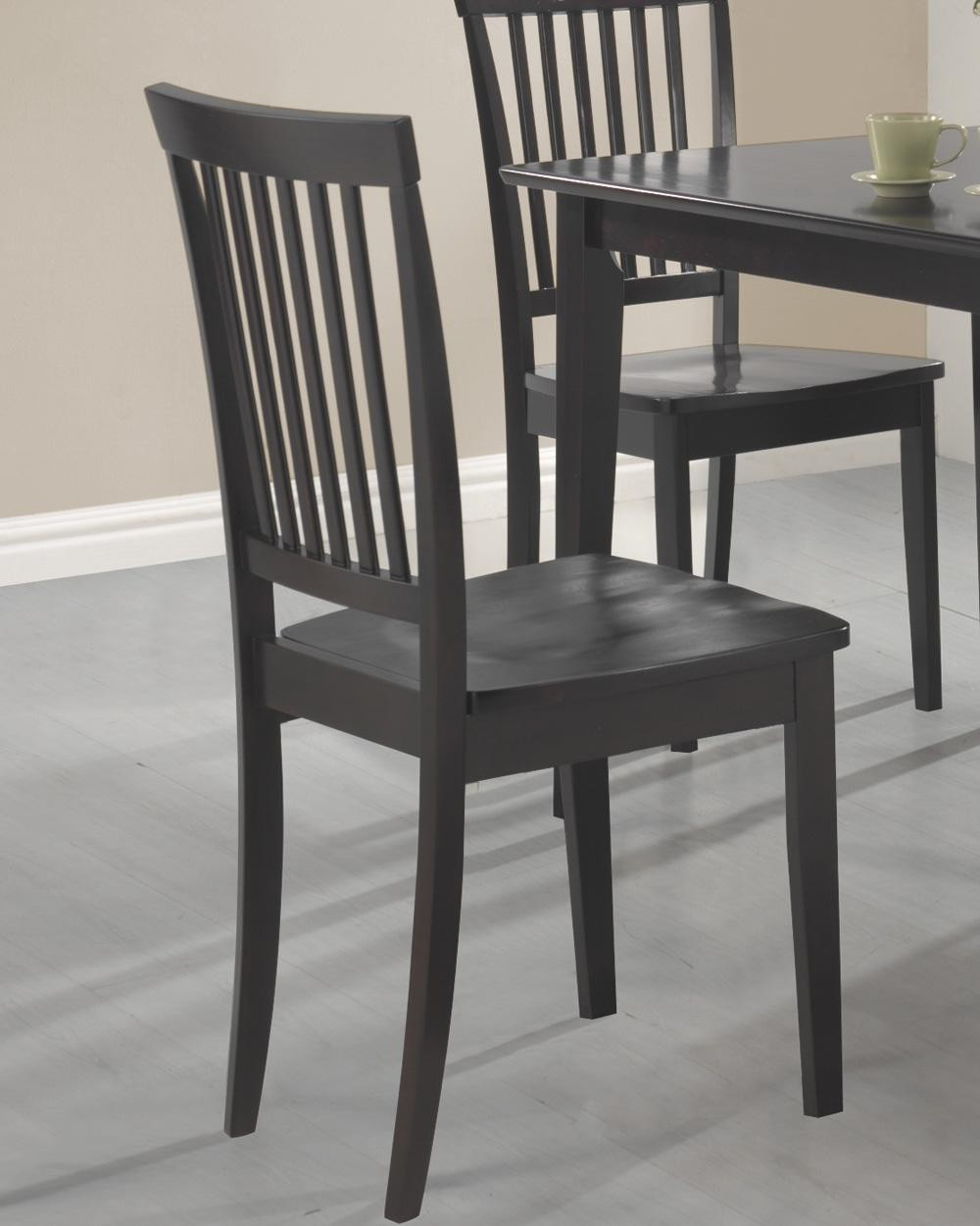 oakdale cappuccino 5 pcs dining room set from coaster kent cappuccino gathering table dining room set by