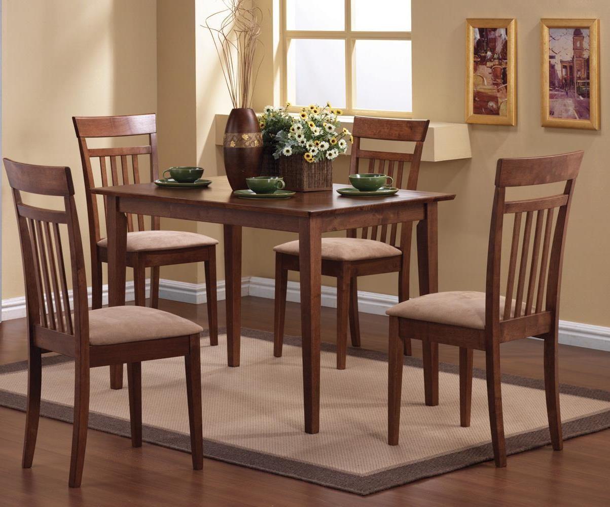 altamonte beige 5 pc dining room set from coaster 150430 coleman furniture. Black Bedroom Furniture Sets. Home Design Ideas