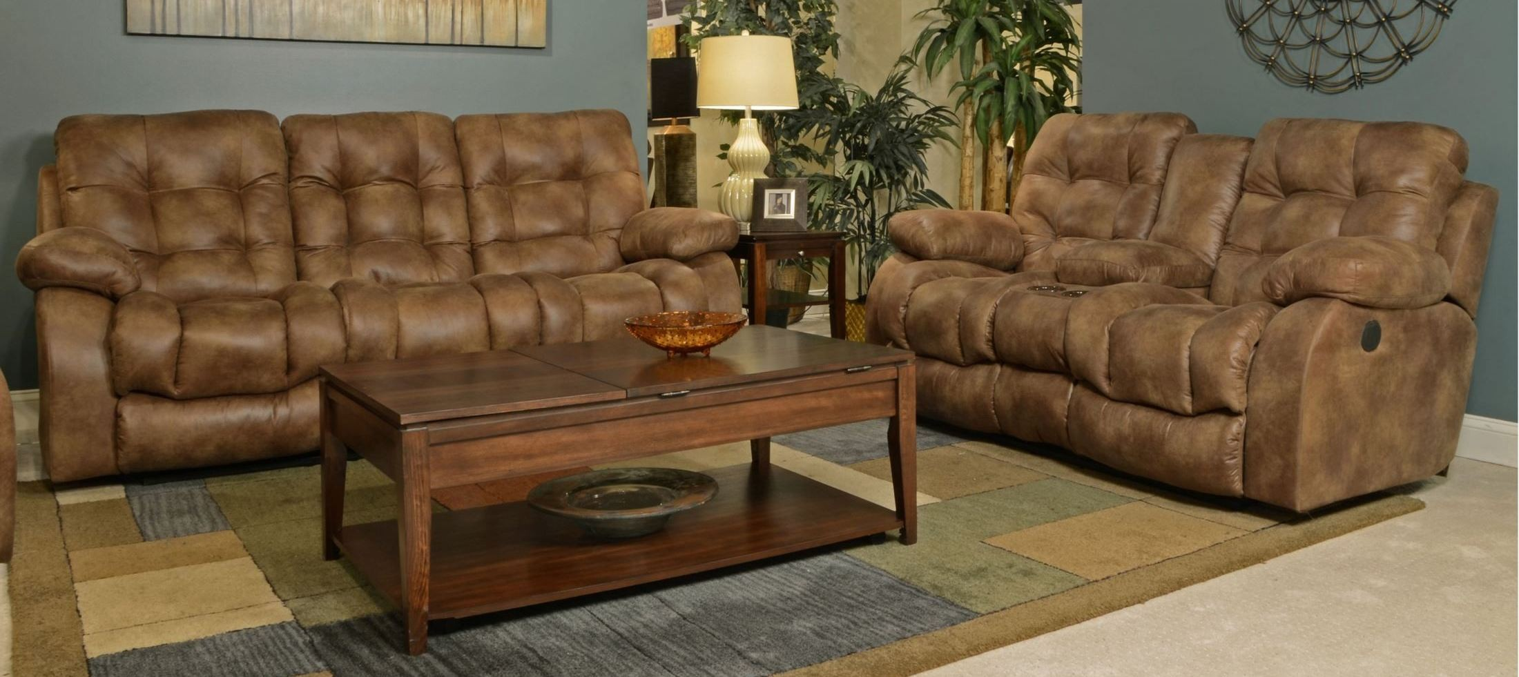 Watson Almond Power Reclining Living Room Set From Catnapper 61521205129