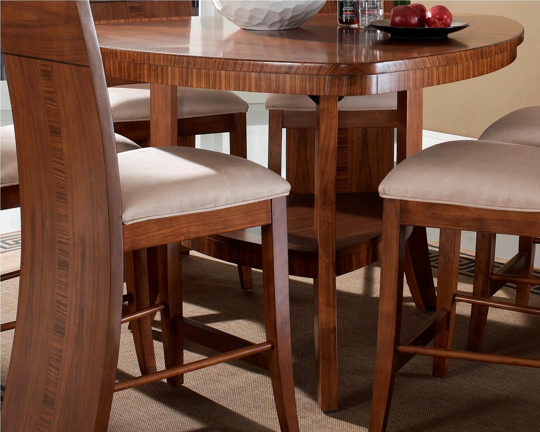 Milan triangular counter height dining room set from somerton dwelling 153 68 coleman furniture - Triangle counter height dining set ...