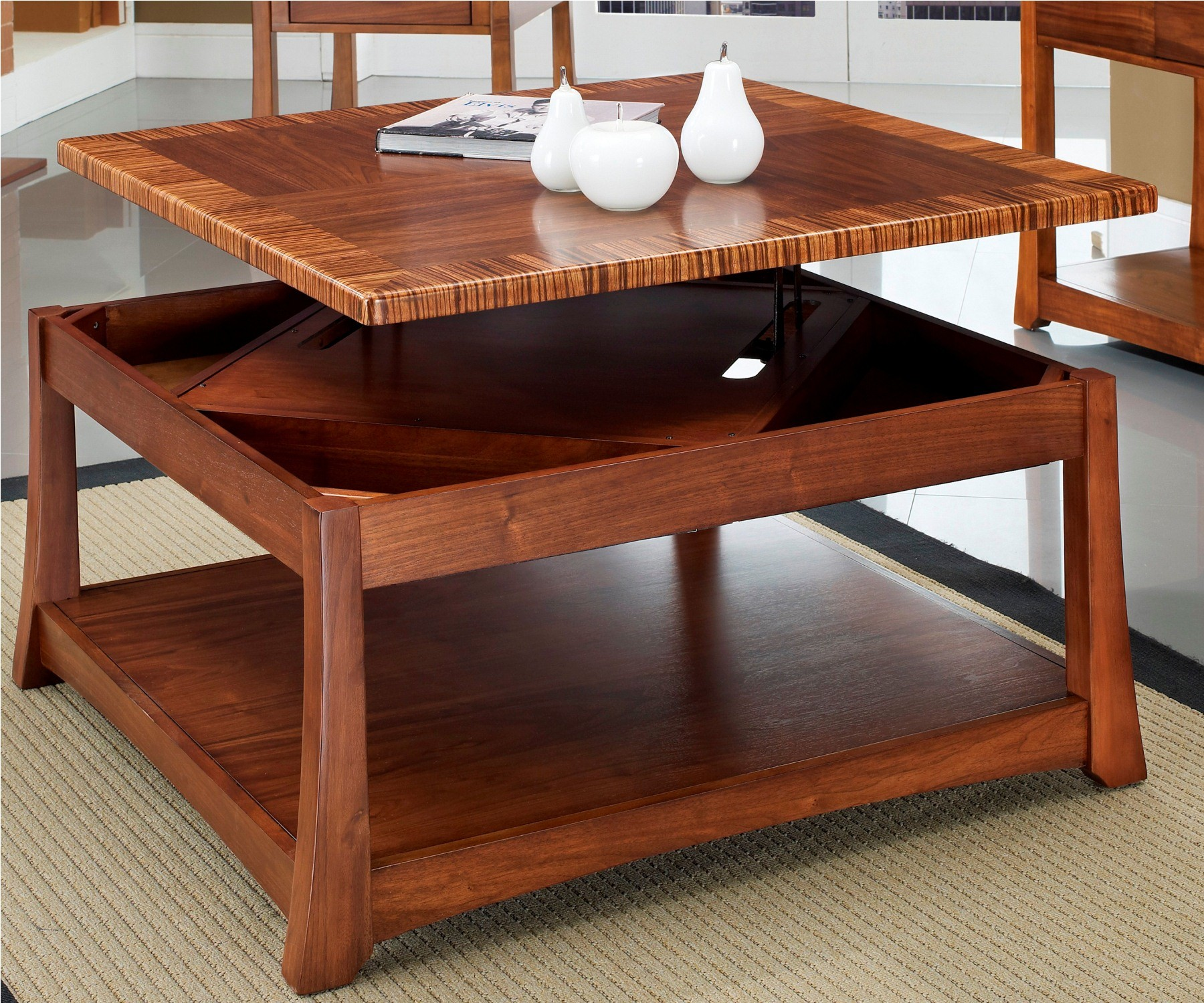 Milan Square Lift Top Cocktail Table From Somerton Dwelling 153 18 Coleman Furniture